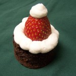 Happiness Is…Recipe: Santa Hat Brownies