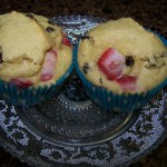Ethan's Progress Report – Recipe: Strawberry Chocolate Chip Muffins