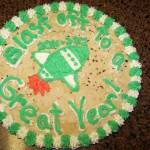 Blast off to a Great Year! – Recipe: Chocolate Chip Cookie Cake