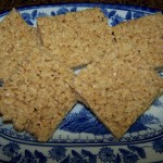1st Day of School – Recipe: Almond Butter Rice Krispies Treats