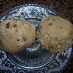 If You Give a Mom a Cookie… – Recipe: Almond Butter Chocolate Chip Cookies