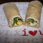 Oh, How I Love that Smile! – Recipe: Turkey and Goat Cheese Wrap