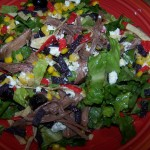 Accidental Goodness – Recipe: Roast Salad with Poppy Seed Dressing