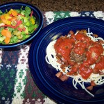 Monday, Monday – Recipe: Spaghetti with Special Meatballs