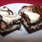 Happiness Is… – Recipe: Caramel Chocolate Cheesecake Brownies