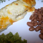 Celebrating Report Card Day – Recipe: Salsa Verde Chicken Enchiladas
