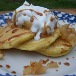 Learning New Things – Recipe: Caramel Apple Pancakes