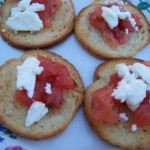 Happiness Is… – Recipe: Bruschetta with Feta Cheese
