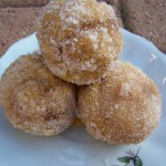 My Three Pumpkins – Recipe: Baked Pumpkin Donut Holes