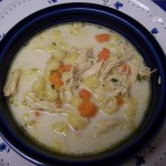 Hide and Seek – Recipe: Creamy Chicken Noodle Soup