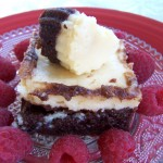 Happy Valentine's Day – Recipe: Cheesecake Brownies