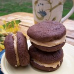 Happiness Is…Recipe: Chocolate Peanut Butter Sandwich Cookies