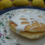 Happiness Is…Recipe – Lemon Cream Cheese Pancakes with Lemon Glaze