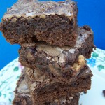 Happines Is…Recipe: Reese's Peanut Butter Cup Chocolate Brownies