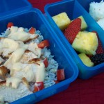 Cooking for My Kids: Project Lunchbox – Recipe: Honey Mustard Chicken with Rice