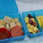 Cooking for My Kids: Project Lunchbox – Recipe: Garlic Bread Cubes with Pizza Sauce