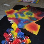 Summer Fun: Tie-Dying T-Shirts