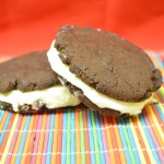 Summer Fun: Make Ice Cream Sandwiches – Recipe: Chocolate Fudge Cookie Ice Cream Sandwich