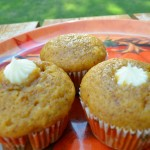 Octoberfest – Recipe: Cream Cheese Filled Pumpkin Muffins